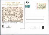 (2016) CDV 130 ** - PM 114 - Staré mapy Čech