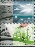 (2016) MiNr. 1493-1494 ** - Island - Europa: Šetrnost vůči životnímu prostředí