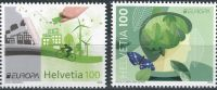(2016) MiNr. 2452 - 2453 **  - Švýcarsko - Europa: Šetrnost vůči životnímu ...
