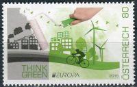 (2016) MiNr. 3268 ** (€ 0,80,-) - Rakousko - Europa: Šetrnost vůči životnímu prostředí