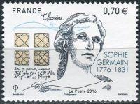 (2016) MiNr. 6408 ** - Francie - 240. narozeniny Sophie Germain