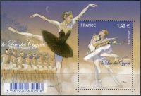 (2016) MiNr. 6593 ** - Francie - BLOCK 346 -  Balet