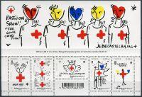 (2016) MiNr. 6614 - 6619 ** - Francie - BLOCK 352 - červený kříž
