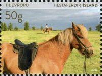 (2017) MiNr. 1522 ** - Island - kůň