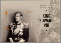 (2017) MiNr. 2090 ** - Jersey - BLOCK 151 - Král Edward VIII.