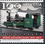 (2017) MiNr. 2492 ** - Švýcarsko - 125 let železnice Brienz-Rothorn