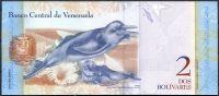 Venezuela (P 88 f) - 2 bolivares (2013) - UNC
