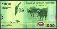 Burundi - (P 51)  1 000 Francs (2015) - UNC
