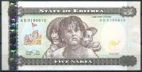 Eritrea - (P 2) 5 NAFKA (1997) - UNC