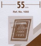 Hawidky černé, pásky 210 x 55 mm, 25 ks - klemmtaschen