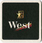 West - pivní tácek