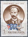 (1973) MiNr. 2917 O - Maďarsko - 120. narozeniny José Marti - ražené