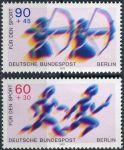 (1979) MiNr. 596 - 597 ** - Berlín - západní - Sport