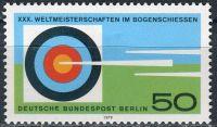 (1979) MiNr. 599 ** - Berlín - západní - 30. mistrovství světa v lukostřelbě