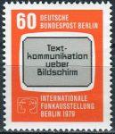 (1979) MiNr. 600 ** - Berlín - západní - Mezinárodní radio výstava Berlín 1979