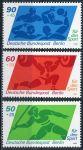(1980) MiNr. 621 - 623  ** - Berlín - západní - sportovní pomůcka