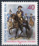 (1980) MiNr. 628 ** - Berlín - západní - 250. narozeniny Friedrich Wilhelm von Steuben