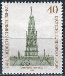 (1981) MiNr. 640 ** - Berlín - západní - 200. narozeniny Karl Friedrich Schinkel (1781-1841), architekt a malíř
