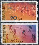 (1981) MiNr. 645 - 646 ** - Berlín - západní - sportovní pomůcka