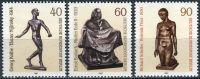 (1981) MiNr. 655 - 657 ** - Berlín - západní - sochy 20. století