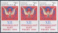 (1994) č. 47 ** - ČR - 3-bl - Sokol