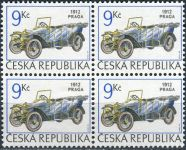 (1994) č. 55 ** - ČR - 4-bl - historická auta