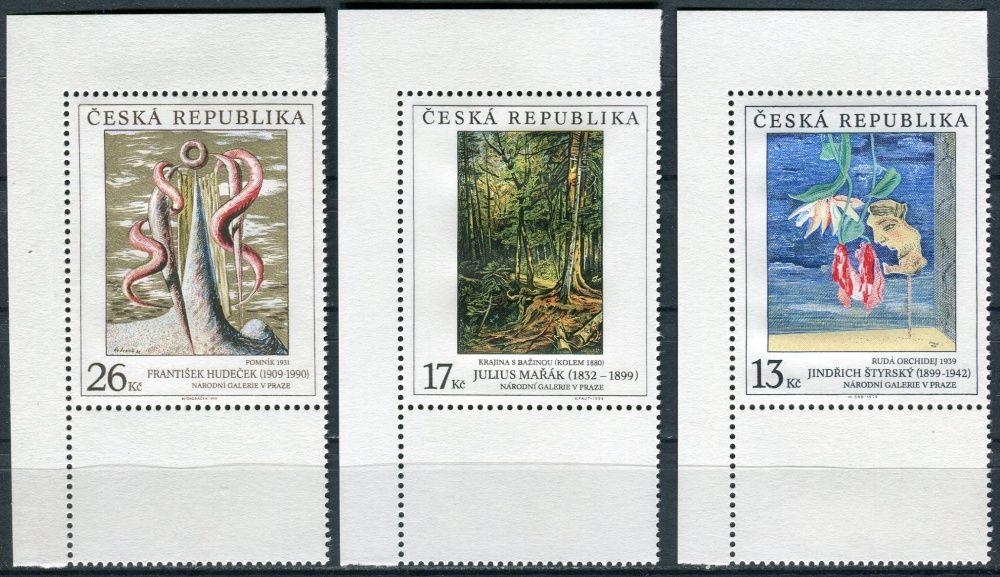 (1999) č. 237-239 ** - Česká republika - Umění 1999 - KD