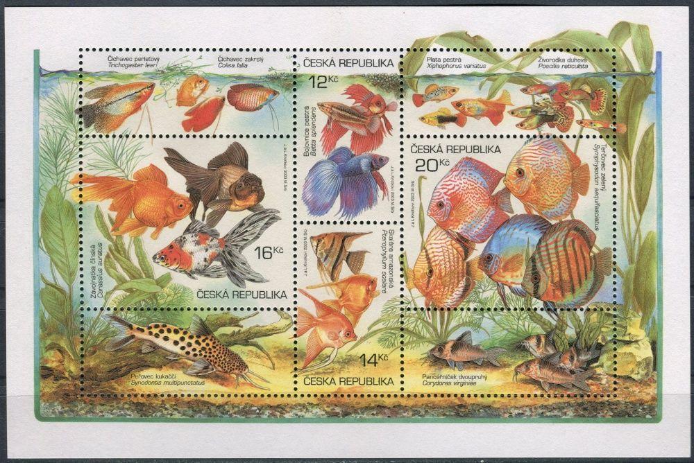 (2003) A 365 - 368 ** - ČR - Chovatelství Akvarijní rybičky