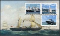 (2013) MiNr. 2056 - 2058 ** - Irsko - BLOCK 91 - 200 let Cork - přístav
