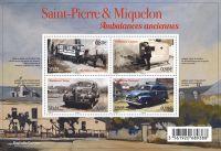 (2016) MiNr. 1259 - 1262 ** - Saint Pierre a Miquelon - BLOCK 28 - Historická vozidla záchranné služ