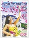 (2016) MiNr. 1323 ** - Fr. Polynesie - Švestkový květ, mezinárodní výstava poštovních známek