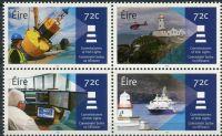 (2016) MiNr. 2203 - 2205 ** - Irsko - 4-bl - Majáky: 150 let komisařů Irish Lights (2017)