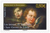 (2016) MiNr. 812 ** - Andora (Fr.) - Vánoce