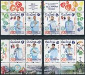 (2016) MiNr. 977 - 984 ** - Kazachstán - Medailistou na Letních olympijských hrách, Rio de Janeiro