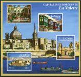 (2017) MiNr. 6695 - 6698 ** - Francie - BLOCK 356 - Evropské metropole - Valletta
