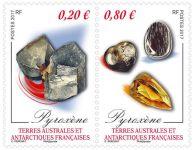 (2017) MiNr. 939 - 940 ** - Francouzská Antarktida - minerály