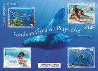 (2017) MiNr.  ** - Fr. Polynesie - BLOCK - ryby