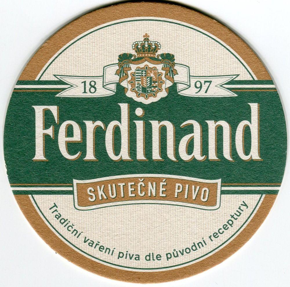 Benešov - pivovar - Ferdinand - Skutečné pivo - Do skutečného to nejlepší!