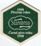 Brno - Starobrno pivovar - Pivovar roku 1998 - Tajemství dobré nálady