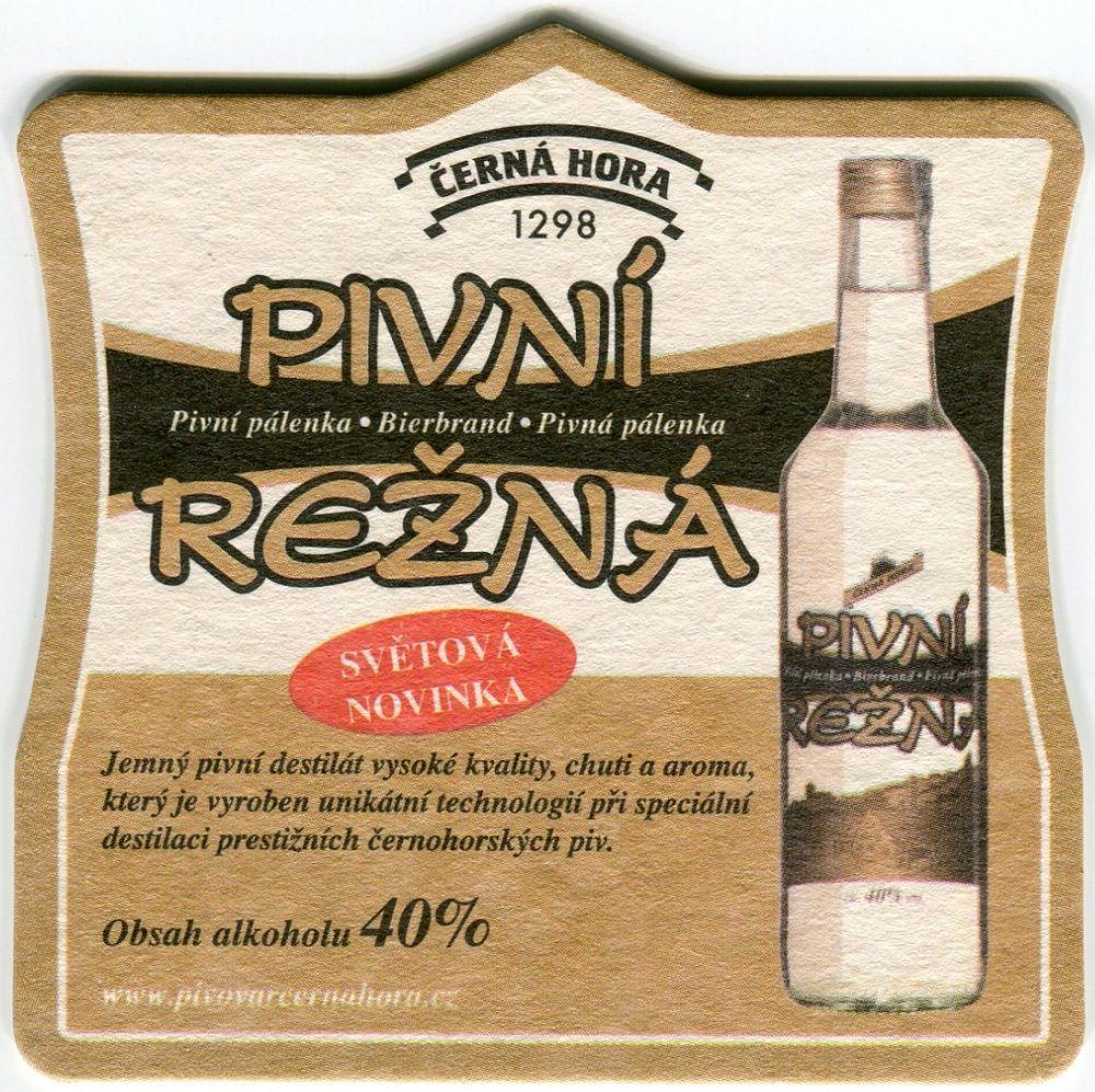Černá Hora - pivovar - Pivní režná - Monte Negro