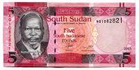 Jižní Sudán - (P 11) 5 POUNDs (2015) - UNC