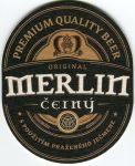 Protivín - pivovar - Merlin - černý