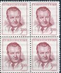 (1948) č. 487 ** - Československo - 4-bl - miniatura - Klement Gottwald