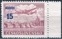 (1949) č. L-31 a ** - ČSSR - Letecké známky - Přetisková provizoria