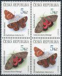 (1999) č. 211-212 ** - Česká republika - 4-bl - Ochrana přírody motýli