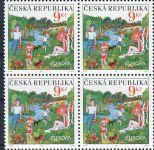 (2004) č. 396 ** - Česká republika - 4-bl - EUROPA Prázdniny