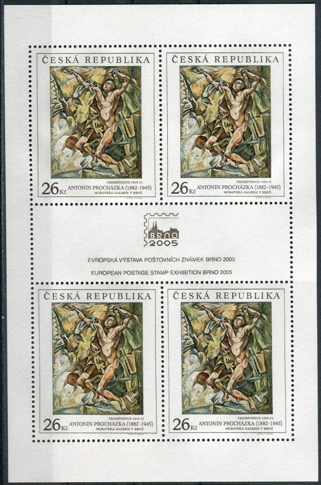 Česká pošta (2004) PL 392 ** - ČR - Prométheus