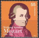 (2006) MiNr. 2512 ** - Německo - 250. narozeniny Wolfganga Amadea Mozarta
