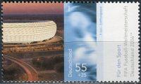(2006) MiNr. 2518 ** - Německo - Sportovní pomoc: Mistrovství světa ve fotbale, Německo; Světové jez