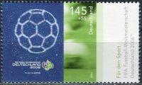 (2006) MiNr. 2521 ** - Německo - Sportovní pomoc: Mistrovství světa ve fotbale, Německo; ...